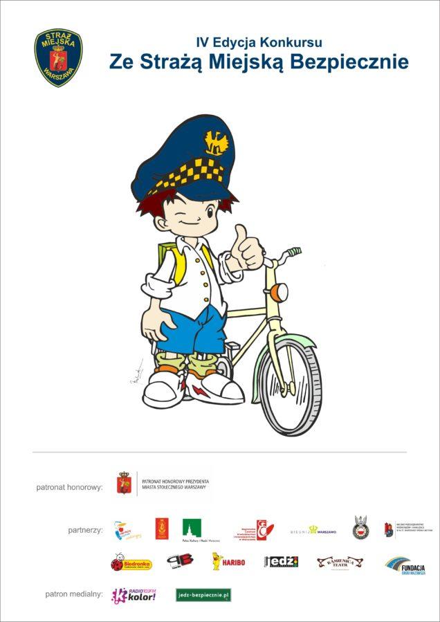 25.01.2017 - plakat IV edycja konkursu z patronatem