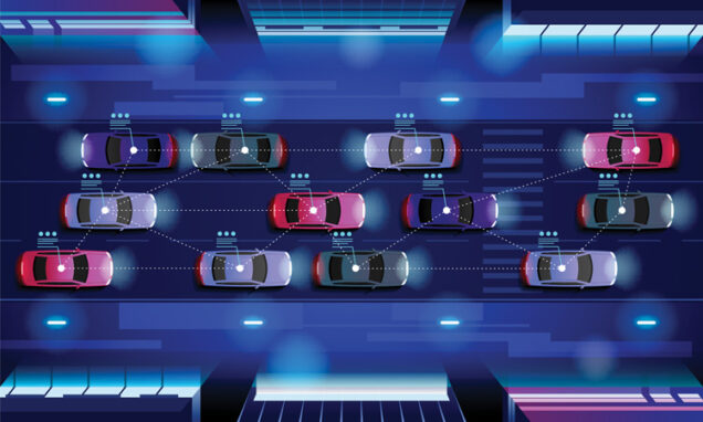 V2X-V2V-autonomous-vehicle-network